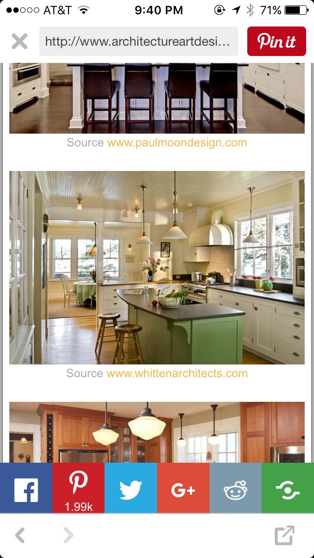 128 best Kitchens images on Pinterest | Kitchens, Kitchen cabinets ...