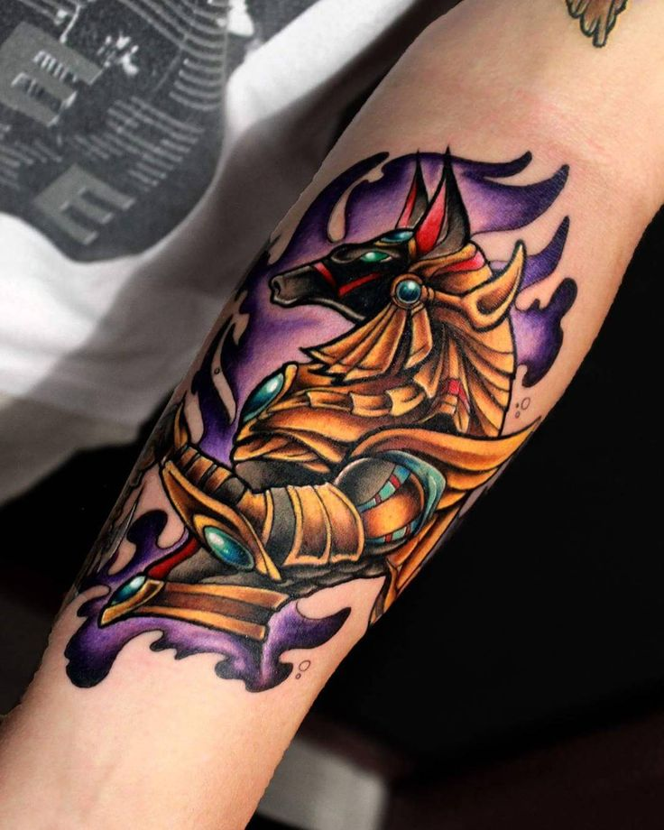 60 Incredible Anubis Tattoo Designs – An Egyptian Symbol of Protection Check more at http://tattoo-journal.com/best-anubis-tattoo/                                                                                                                                                                                 Más