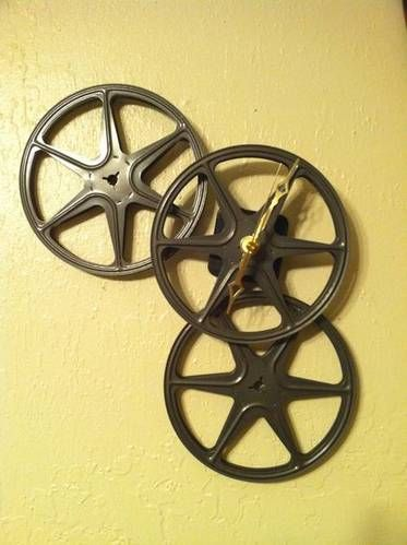 film-reel clock - HOME SWEET HOME