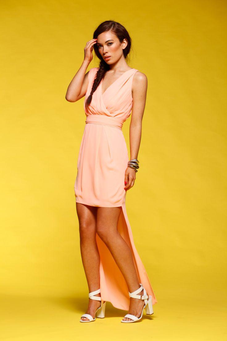 Honey & Beau - Rock The Dress in Pink HD55004