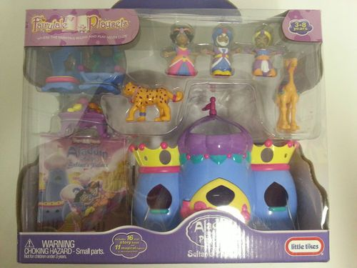 Little Tikes Fairytale Playset Aladdin and the Princess Sultan's Palace NEW RARE