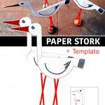 Paper+stork+++template