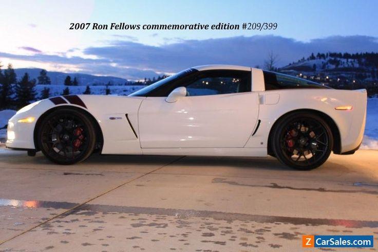 2007 Chevrolet Corvette #chevrolet #corvette #forsale #canada