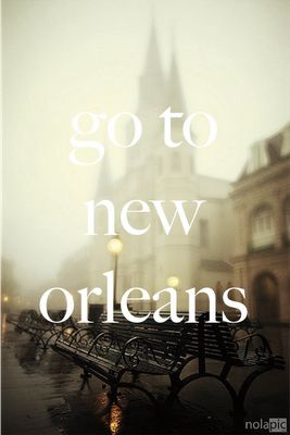Bucket list- i really want to go to New Orleans for a great photography moment