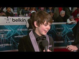 The Amazing Spider-Man 2: Max Charles New York Premiere Interview --  -- http://www.movieweb.com/movie/the-amazing-spider-man-2/max-charles-new-york-premiere-interview
