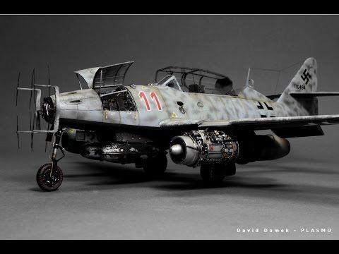 (40) Messerschmitt Me-262 Nightfighter Hobby Boss 1:48 Step by Step - YouTube