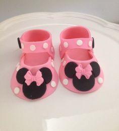 tutorial fondant minie baby shoes - Αναζήτηση Google