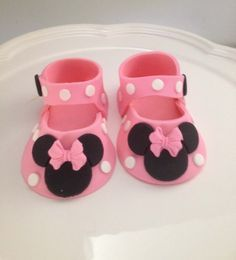 tutorial fondant minie baby shoes - Αναζήτηση Google
