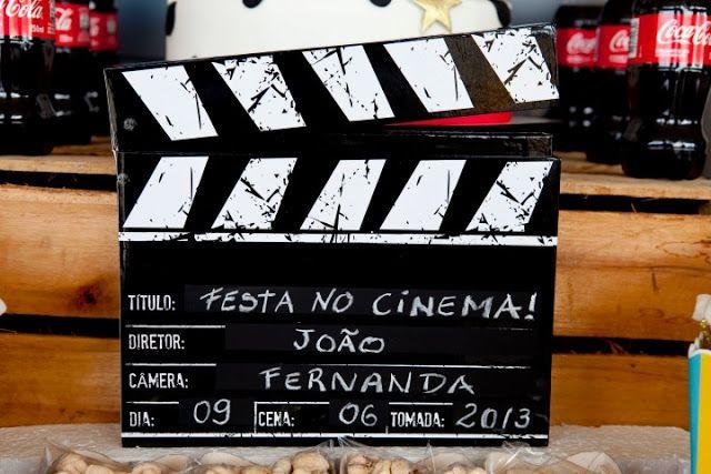 Boutique Festas #Cinema #movie #festacinema #movieparty  #claquete