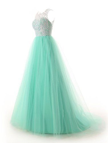 Dressystar Straps Bridesmaid Dresses Prom Gowns with Buttons on Back Size 6 Mint  - Click image twice for more info - See a larger selection of prom dresses at http://girlsdressgallery.com/product-category/prom-party-dresses/ - woman, girls, junior dresses, girls dresses, teenager, girls fashion, womens fashion, gift ideas, dresses,special occasion dresses , night dresses, party dresses, gown