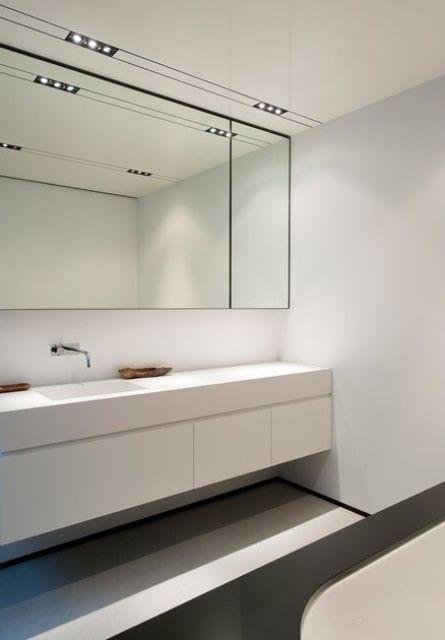 45 Stylish And Laconic Minimalist Bathroom Décor Ideas. Minimalistisches  BadezimmerInnenarchitektenBadezimmer DekorBadezimmerideen