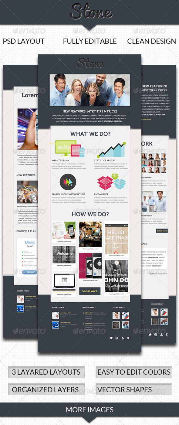 Stone Email Template