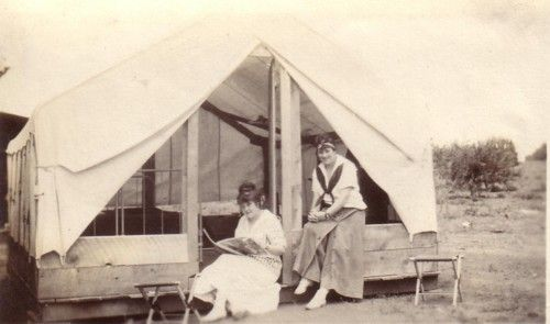 Auto Camping, 1910s | The Vintage Traveler
