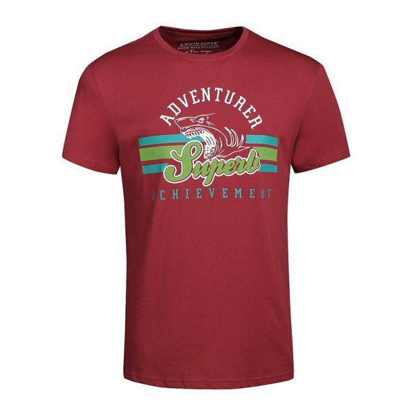 Men's Casual Letters Printed Plus Size T-Shirt #jewelry, #women, #men, #hats, #watches, #belts