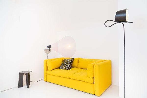 Een echte knaller in je #interieur, de #Hackney #sofa in het #geel.