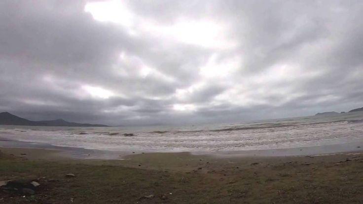 Штор Пляж Волна г. Находка Приморский край Россия
