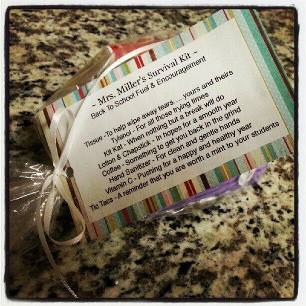 25 Best Ideas About Teacher Survival Kits On Pinterest: 17 Best Images About Fun Survival Kits On Pinterest