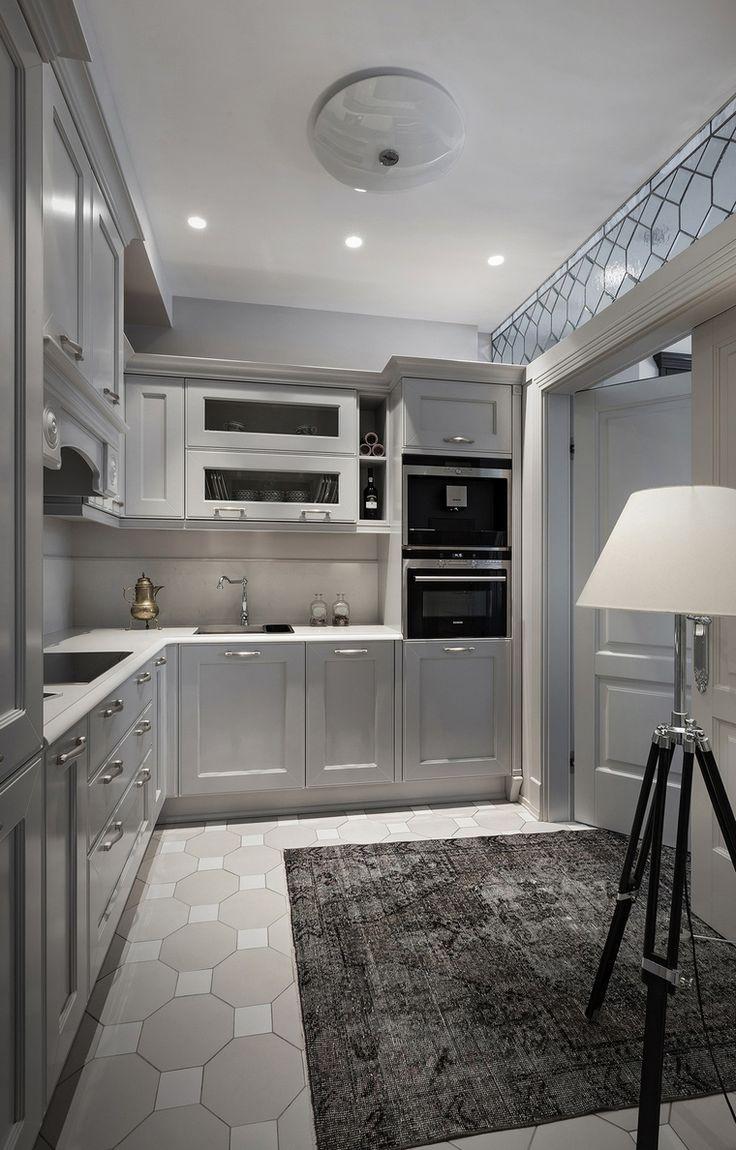 интерьер кухни № 22300, автор - Архитектурная студия Соколовых на сайте InteriorExplorer.ru