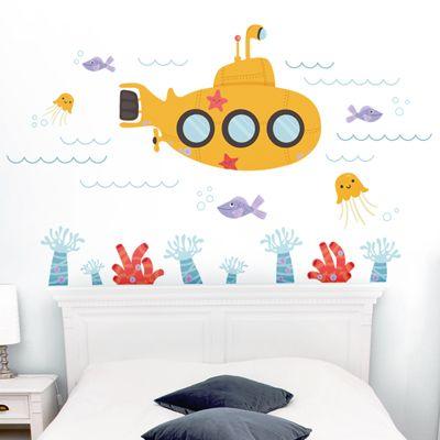 Dali Decals – Submarine Under the Sea $85 @BabyCenter