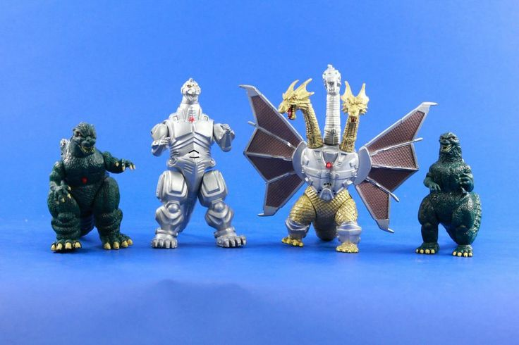 Godzilla Trendmasters Electronic Action Figure Lot 90s ...