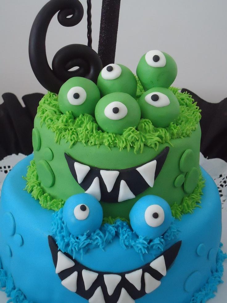 Torta monstruos