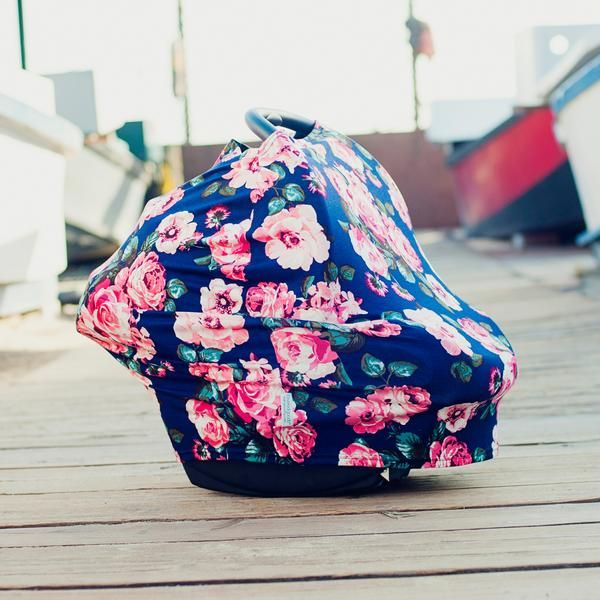 Covered Goods™ multi-use nursing covers give you all the benefits that the traditional covers do... and more! - also functions as a car seat cover, scarf, and shopping cart cover - provides true ALL O