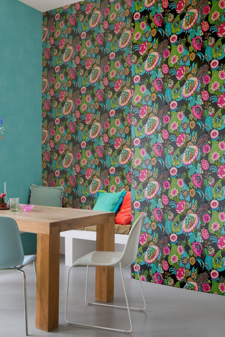 Bohemian Flower By Albany Charcoal 803631 Room Wallpaper Ideas