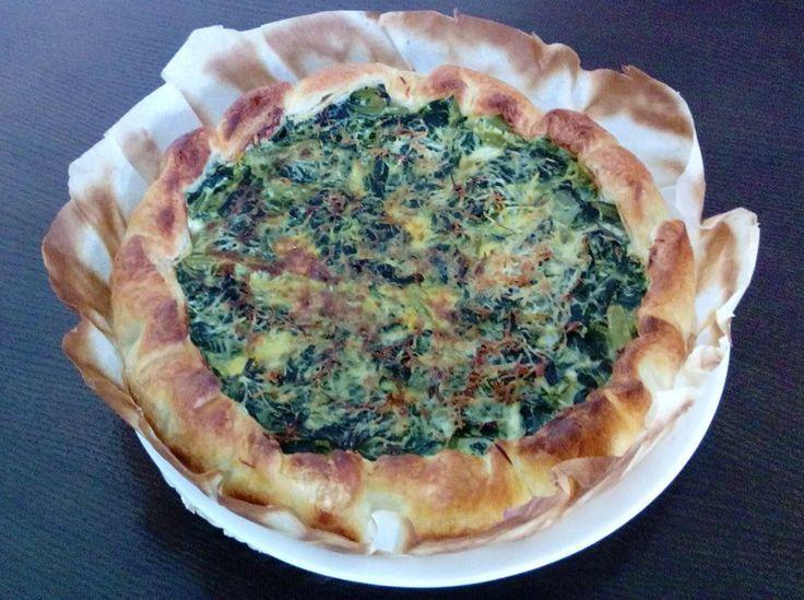 Torta salata di bietole e pecorino  #ricettedisardegna #sardegna #sardinia #food #recipe #cucinasarda