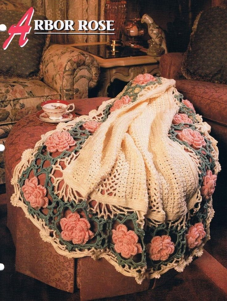 756 Best Images About Crochet Afghans On Pinterest