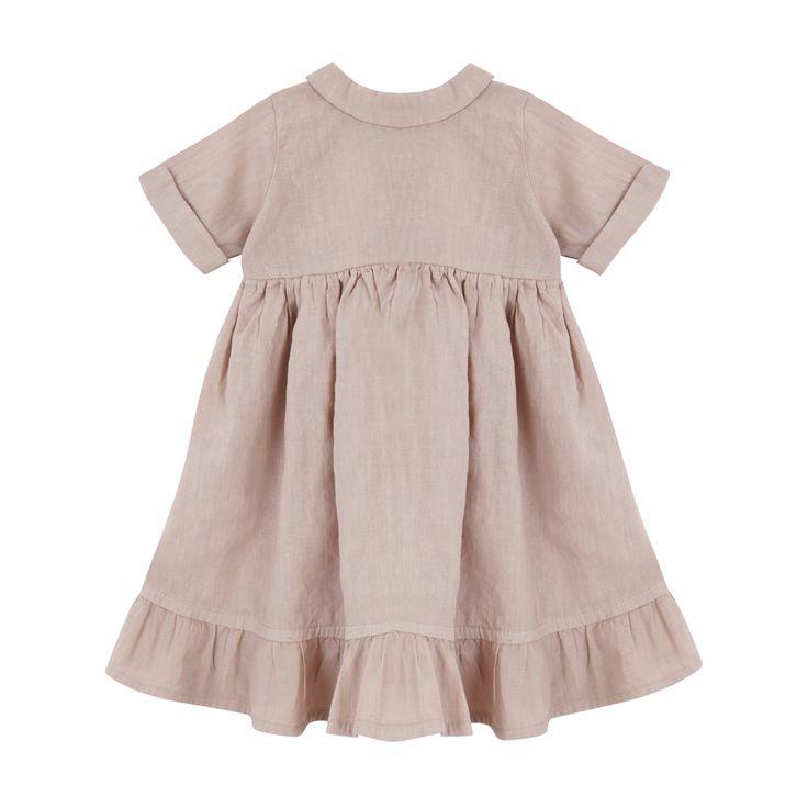 Yellowpelota Folklore Linen Maxi Dress-product