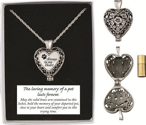 Pet Memorial Urn Locket by Miles Kimball by Miles Kimball. $28.00