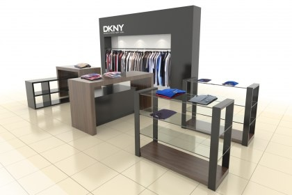 ModusWorkplace Supportis delighted to announce an appointment to roll out a new DKNY shop-in-shop concept on behalf of SKNL in Croydon, Cardiff, Manchester, Birmingham, Nottingham, Belfast and Dundrum.  Each installation is a mini outlet with walls, bulkheads, specialist lighting and copious display space. The project is the first phase of a larger roll out to be announced in the near future.