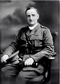 """Fr. William Doyle, S.J., """"The Trenches Priest"""". He served in the Army Chaplains' Department of the British Army during WWI, then was appointed Chaplain of the 16th Irish Division. He was killed in action at the Battle of Passchendaele on the 16th of August, 1917, having run """"all day hither and thither over the battlefield like an angel of mercy."""" This good shepherd truly gave his life for his sheep.""""  http://pinterest.com/sinclairsmom/world-war-1-photos/"""