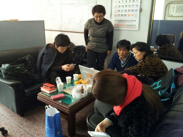 강동소셜리딩그룹이 정기모임에서 소현주.이영희 대표님이 참석하심