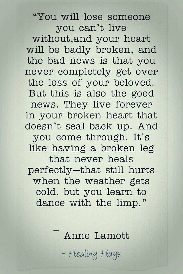 This is so true. Dad I love and miss you so much. ❤️❤️