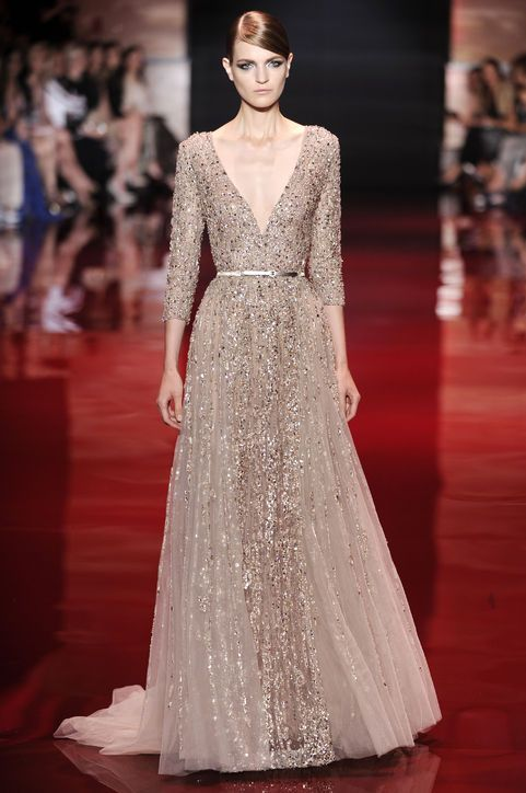 6 Wedding Worthy Dresses From Elie Saab S Haute Couture Show Pinterest And Fashion