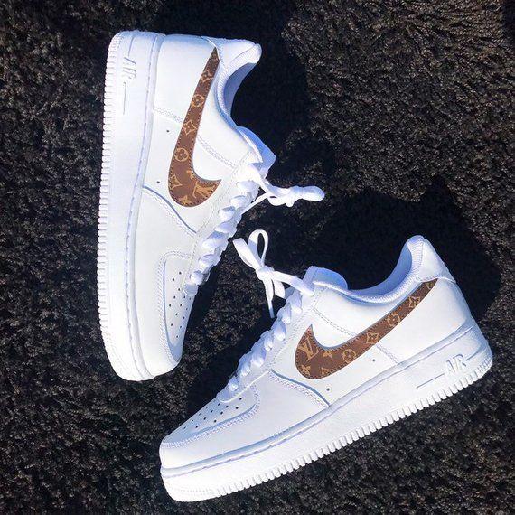 Louis Vuitton Swoosh Nike Air Force 1
