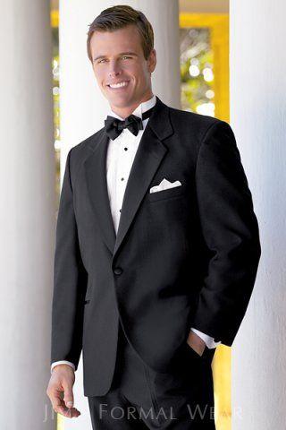 #Tuxedo #Tux #Groom #WeddingTux #Black