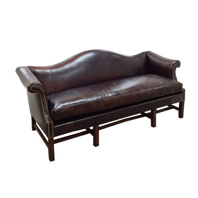 Italian Leather Sofa With Wood Trim: 46 Best Cool Camelback Leather Sofas Images On Pinterest