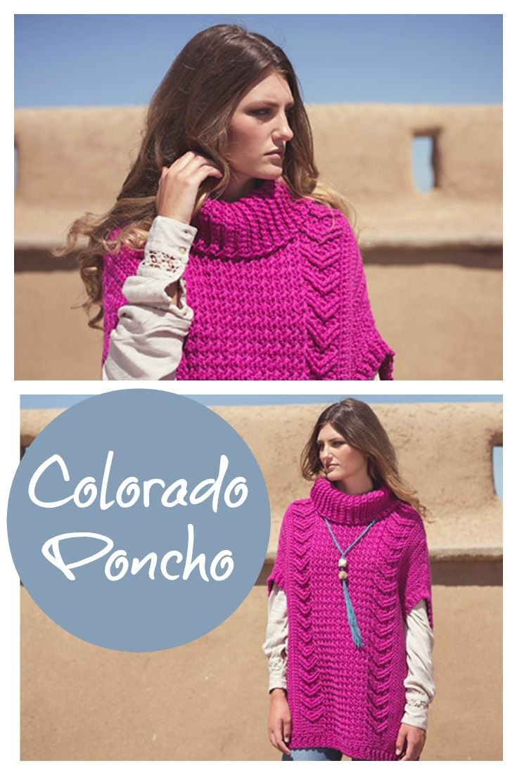 Loving this crochet poncho! Learn more on the blog.