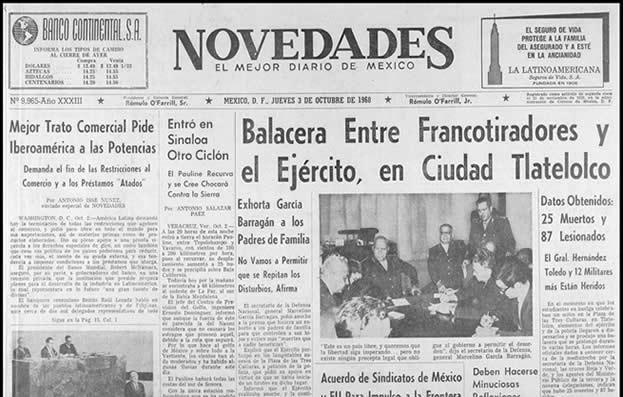 Matanza de Tlatelolco (Tlatelolco massacre) [1968] [Mexico].