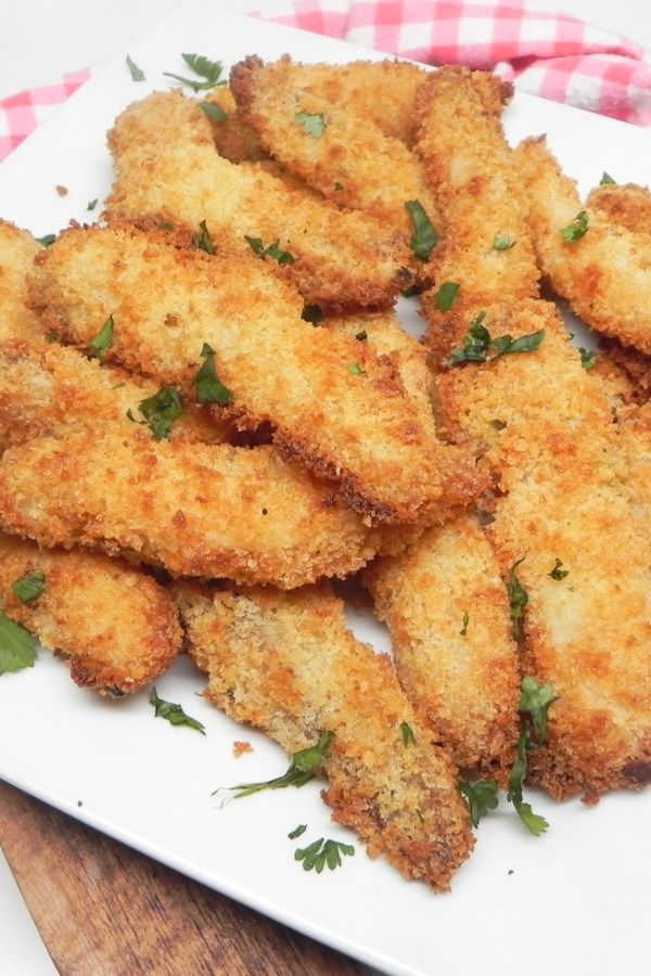 Tartar SauceBattered Fish Sticks in the Air Fryer