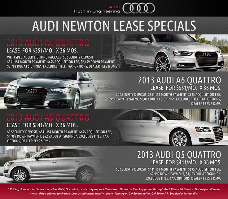 1000+ Ideas About Audi Lease Specials On Pinterest