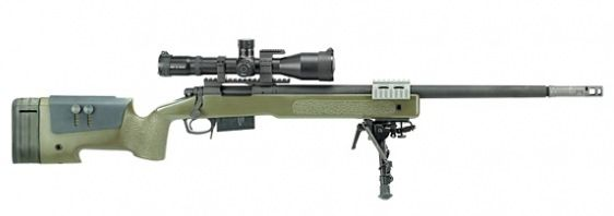 The M40A5 Sniper Rifle