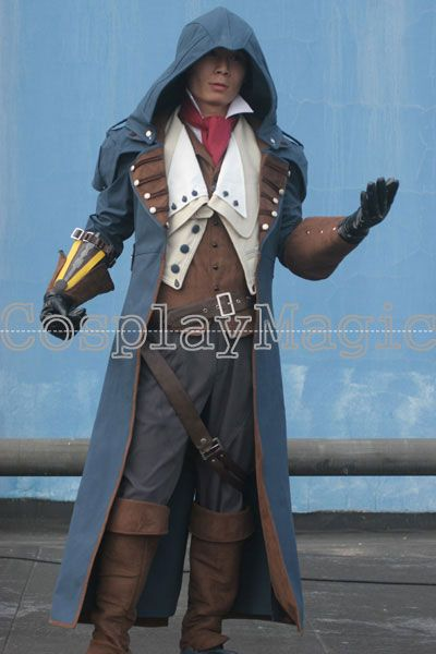 Assassin's Creed Unity Arno Victor Dorian Cosplay Costumes