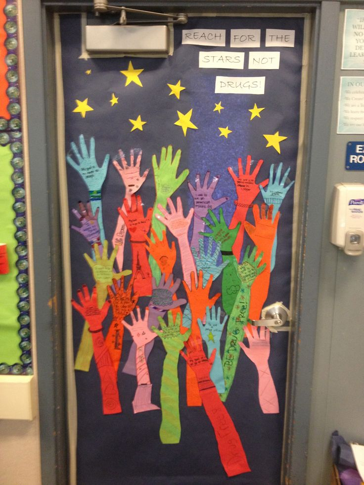 cool door decorating ideas. Red Ribbon Week Door Decorating Inspiration Cool Ideas E