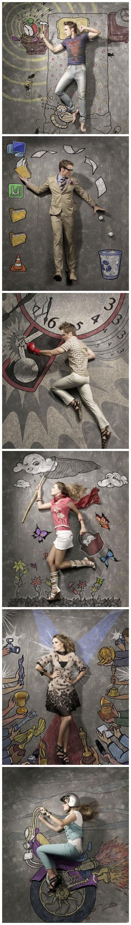 fantastische Illustrationen von Nithin Rao Kumblekar …