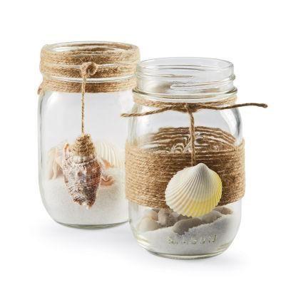 Coastal Mason Jars