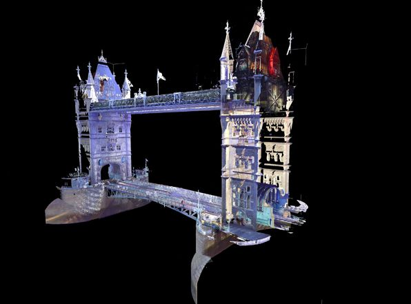 Tower Bridge Deck Model