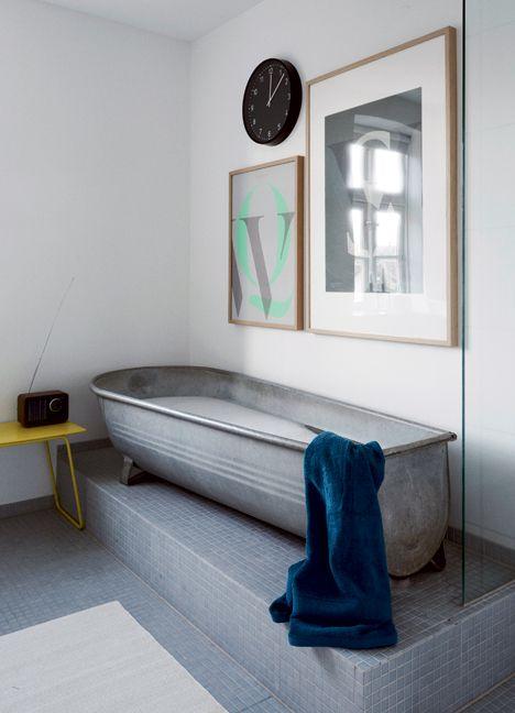 Ulrik boss bathroom salle de bain inspiration décoration d'intérieur baignoire originale idée recup